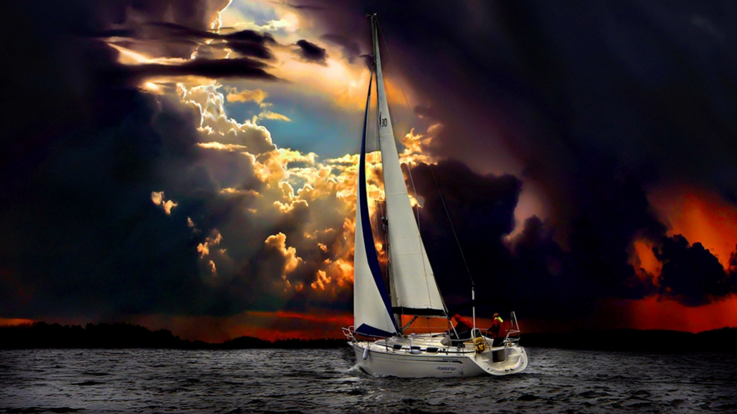 Vehicles - Sailboat Wallpaper