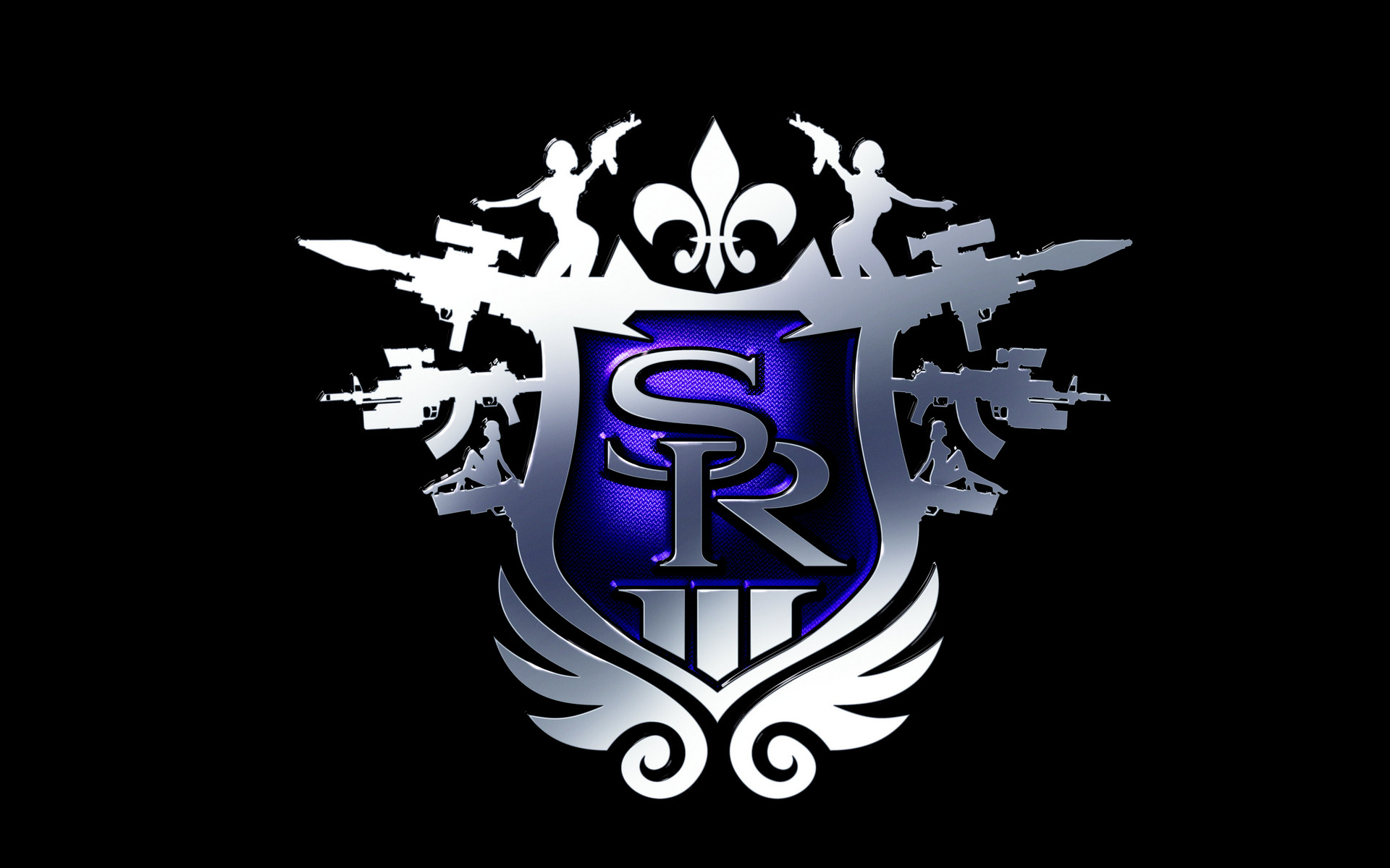 Saints Row Logo Wallpaper