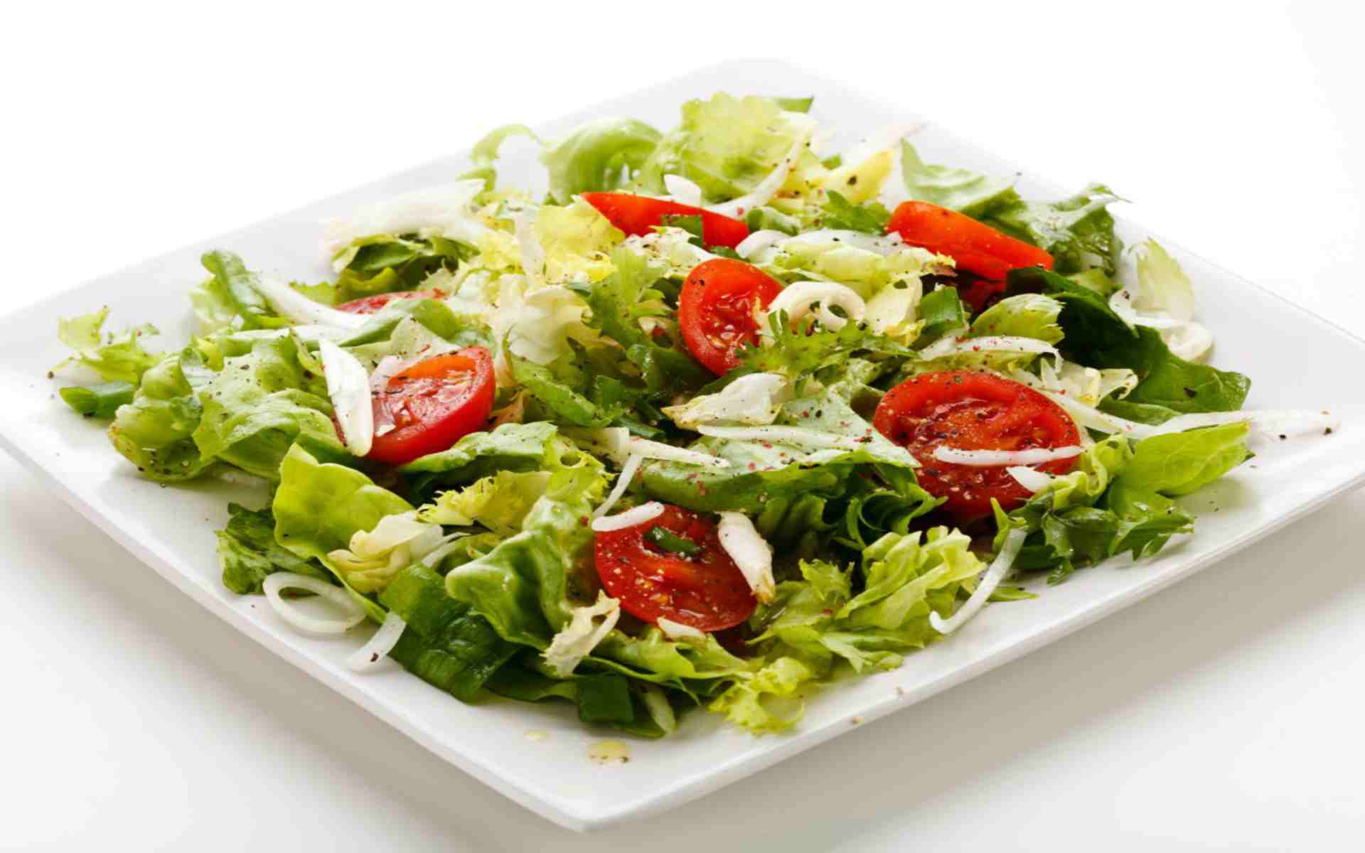 DOWNLOAD: salad plate white background free picture 2560 x 1600