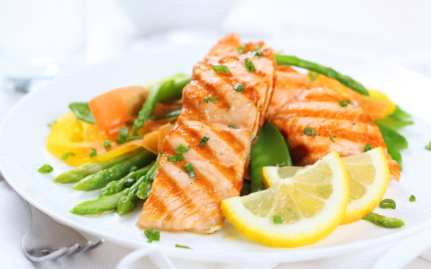 Salmon Salad Wallpaper