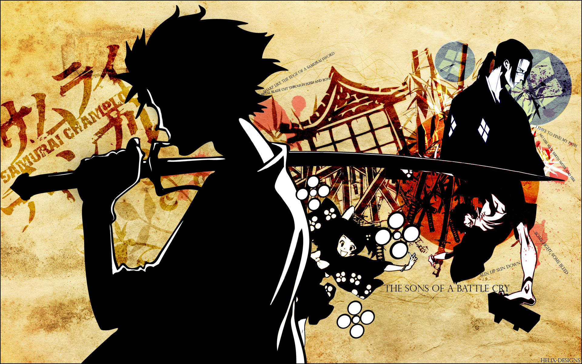 Samurai Champloo Res: 1920x1200 / Size:913kb. Views: 9596