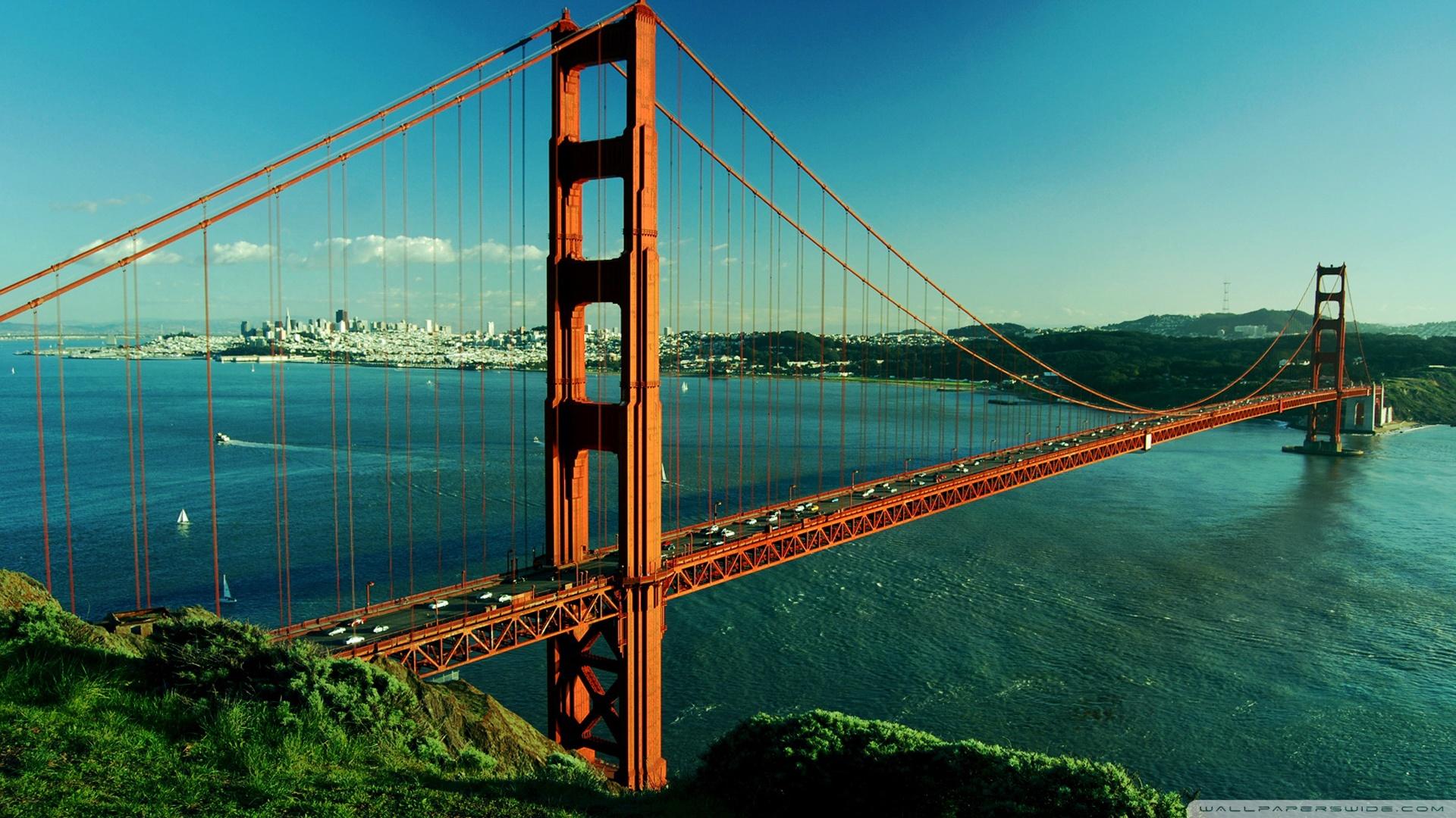 Golden Gate Bridge Coast Wallpaper 1920x1200 21477