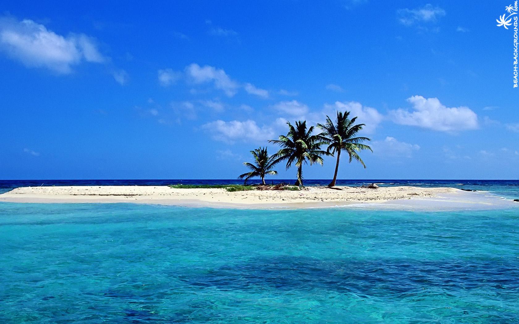 Lonely Sandy Beach