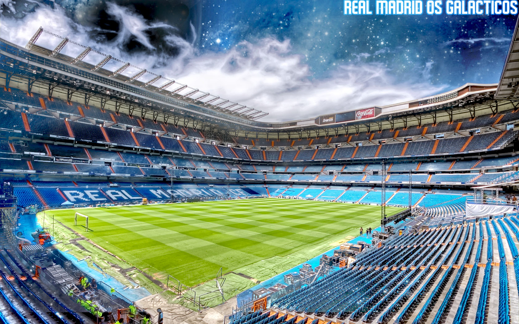 Santiago Bernabeu Real 1680x1050 wallpaper