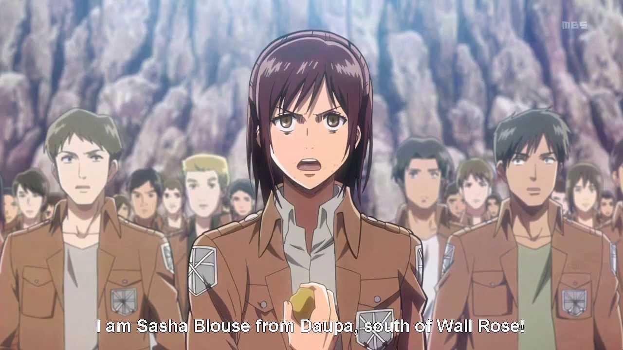 Shingeki no Kyojin - potato girl
