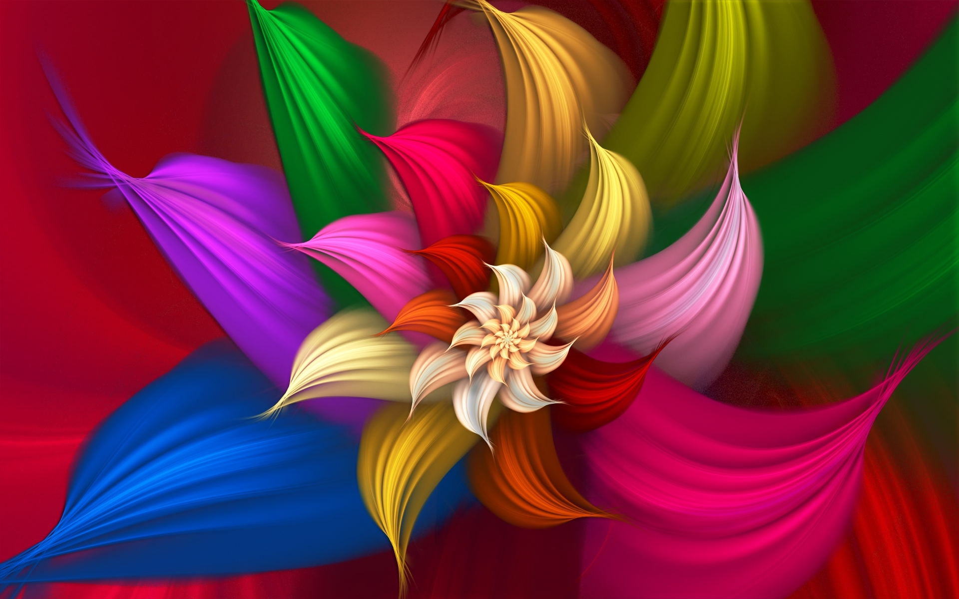 Satin Art Flower