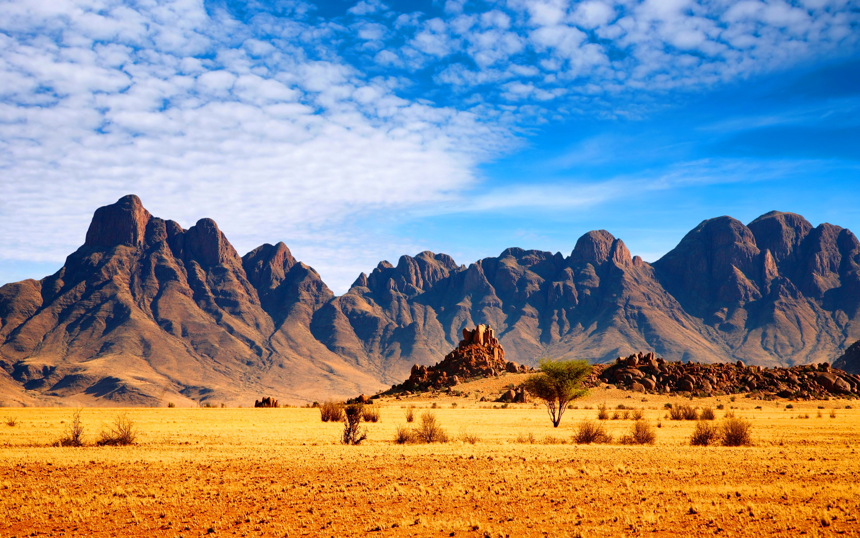 Savanna mountains