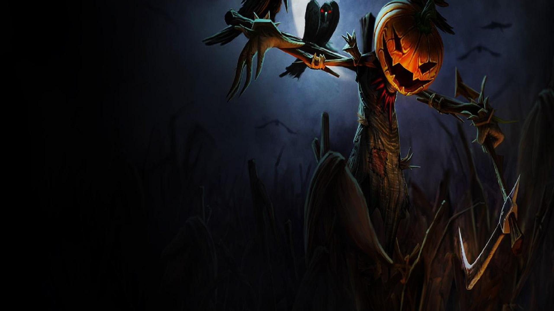 Scarecrow Coming To Life Wallpaper Hd Wallpapers 1920x1080px