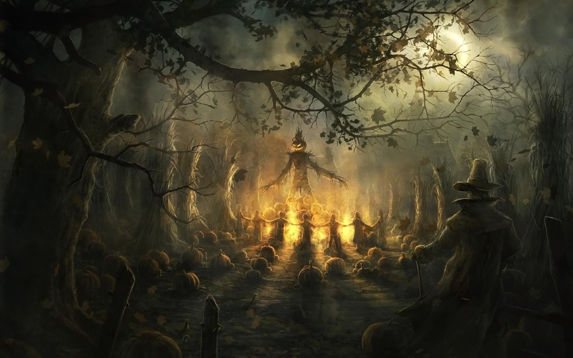 Scarecrow Wallpaper 2864