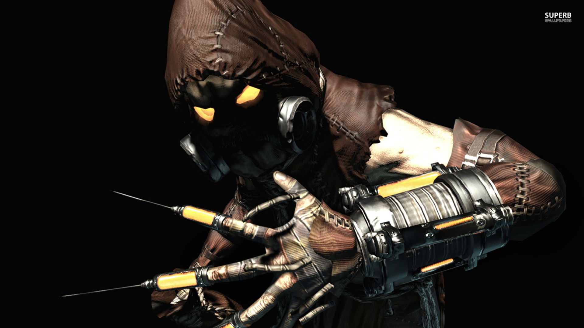 Scarecrow - Batman - Arkham Asylum wallpaper 1920x1080