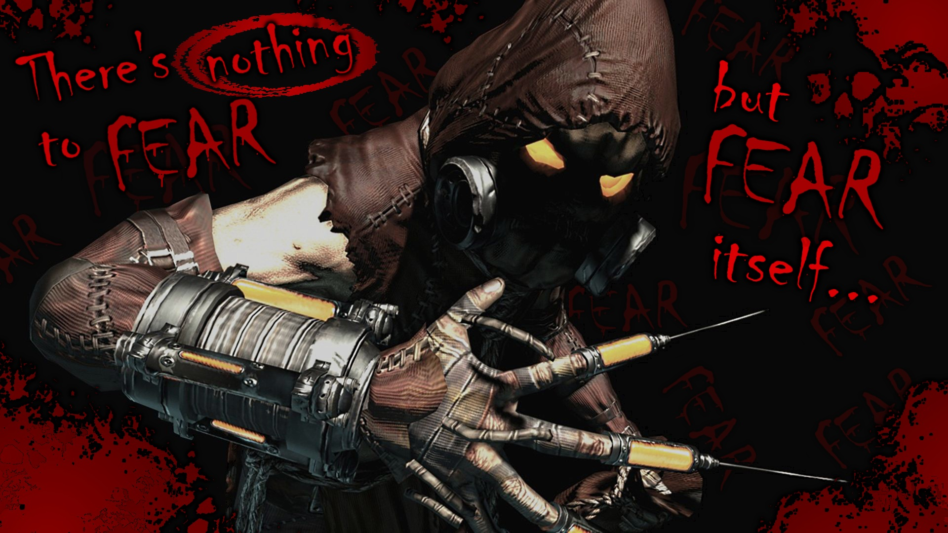 ... Scarecrow Fear Wallpaper by Kevin-Yoshi