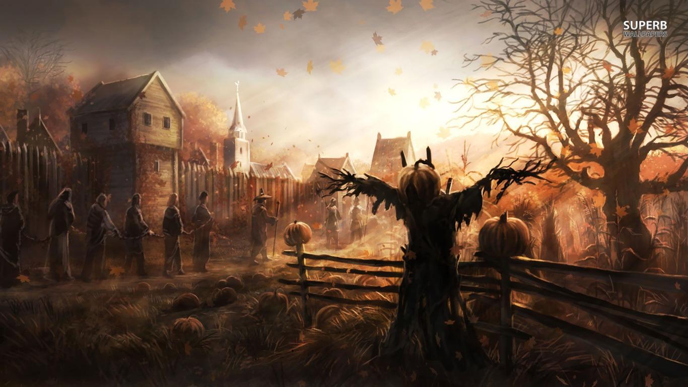 Scarecrow Wallpaper