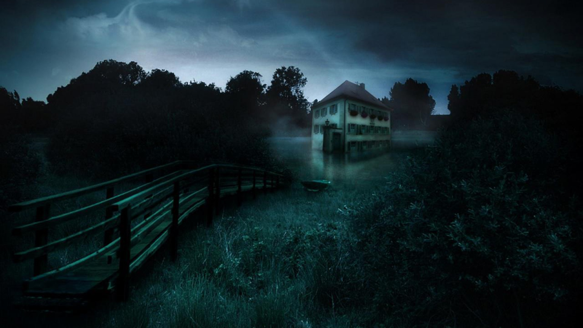 Scary Wallpapers Home Creepy Garden 152