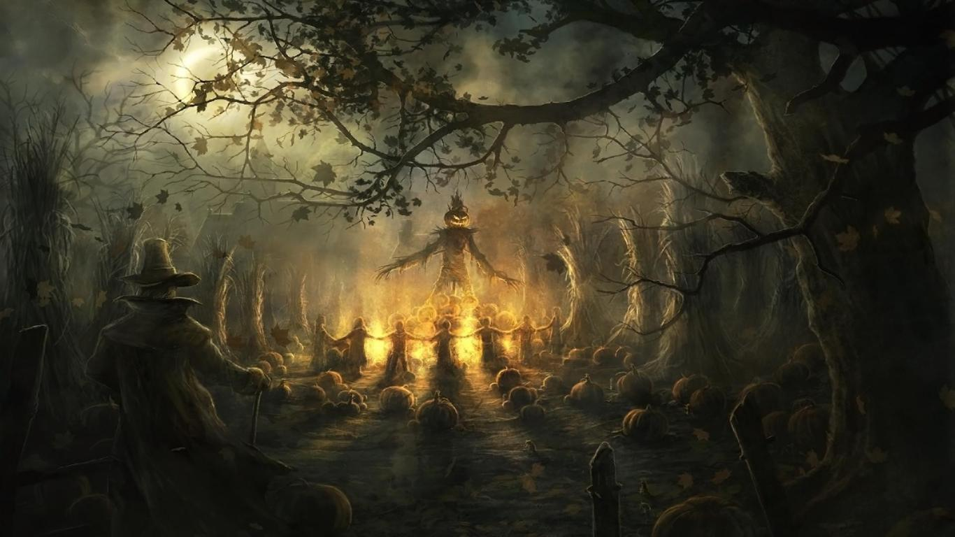 Scary Halloween Backgrounds