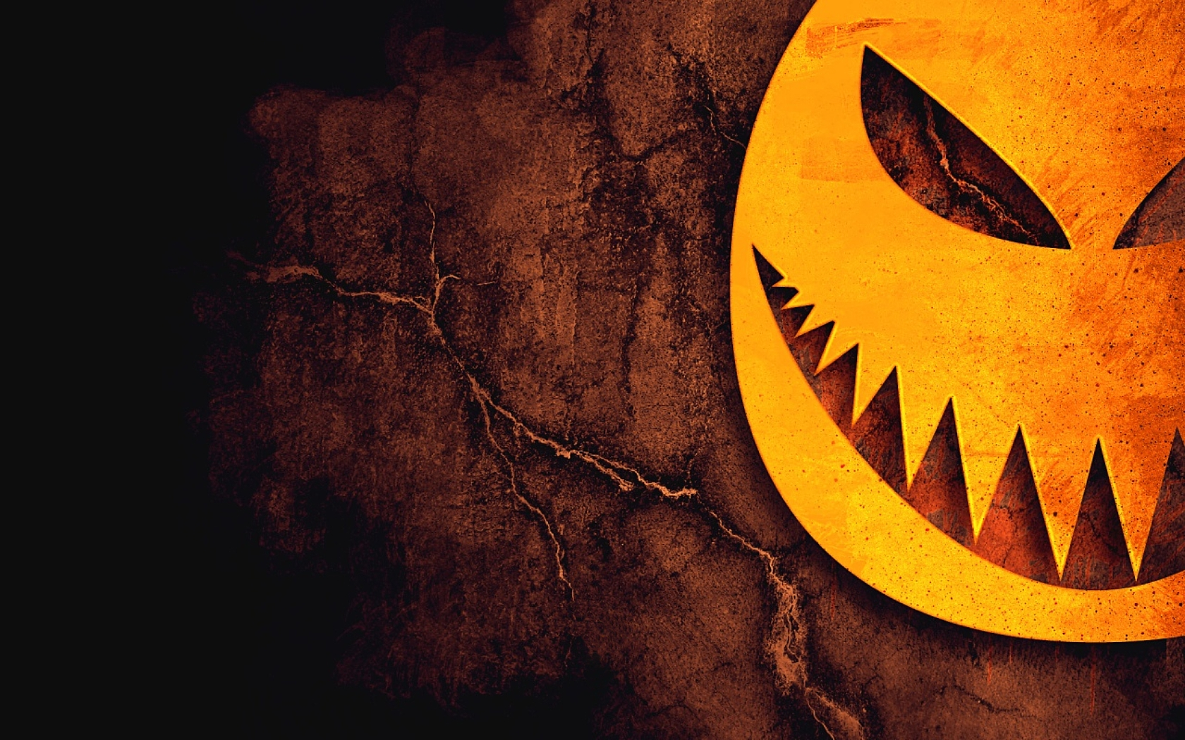 Scary Pumpkin Wallpaper
