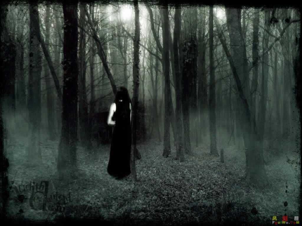 Scary Ghost Wallpaper HD Forest Desktop 142 Backgrounds