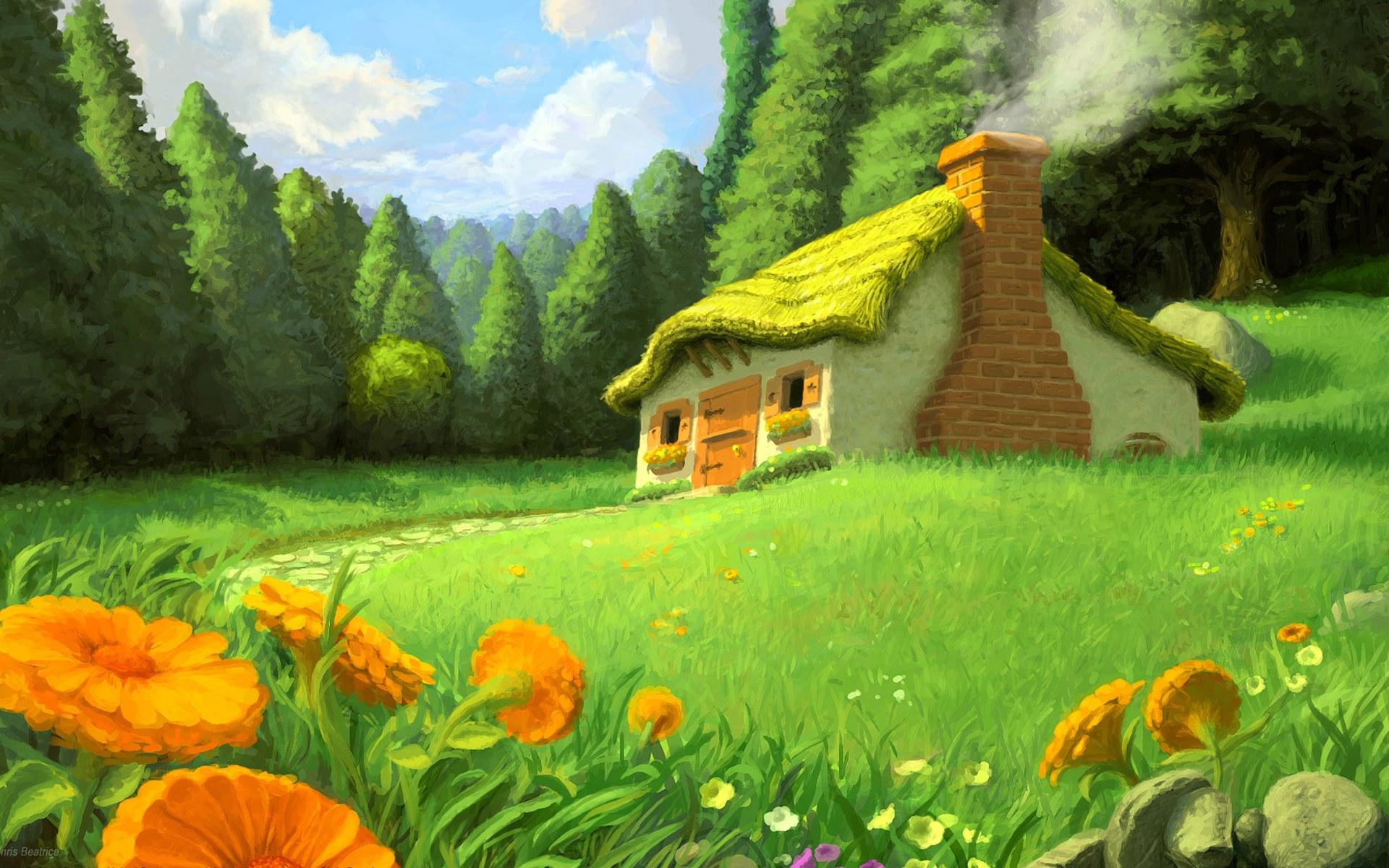 fantasy art scenery