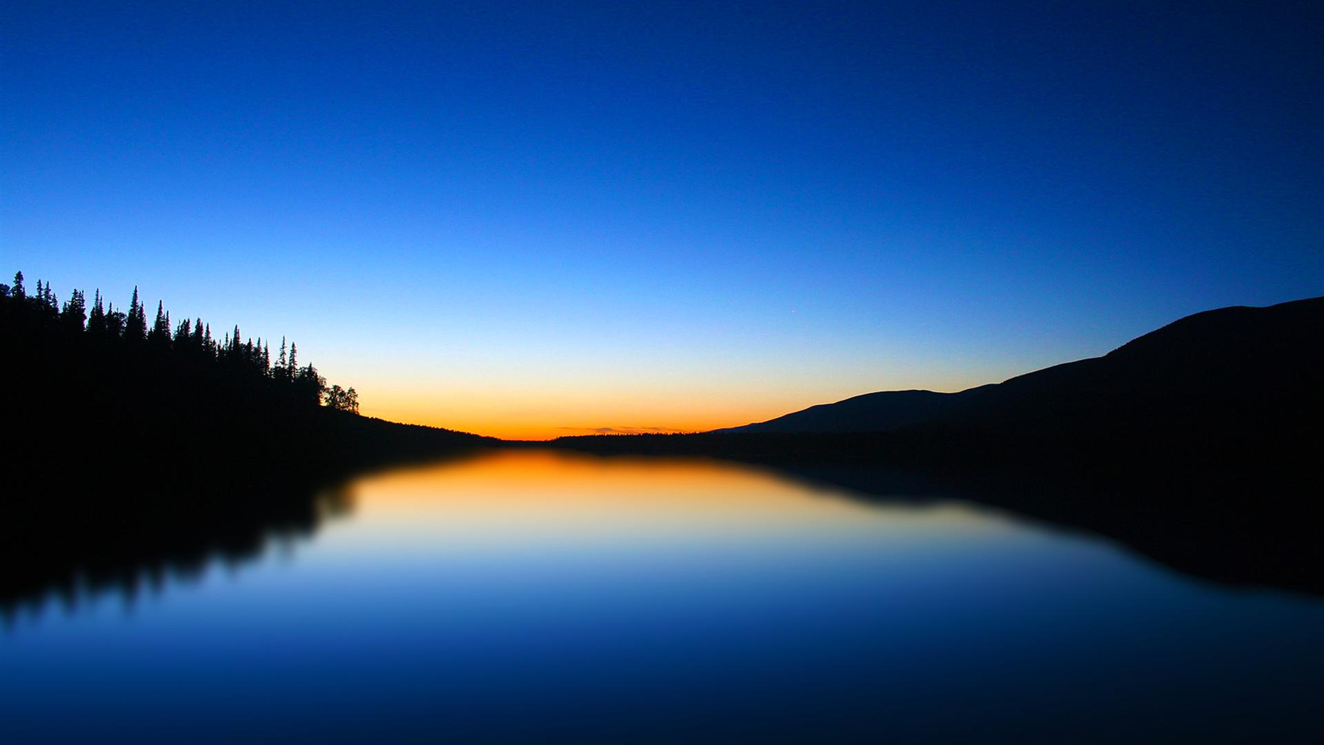 1920x1080 Hd Blue lake scenic wallpaper for windows wide wallpapers:1280x800,1440x900,1680x1050