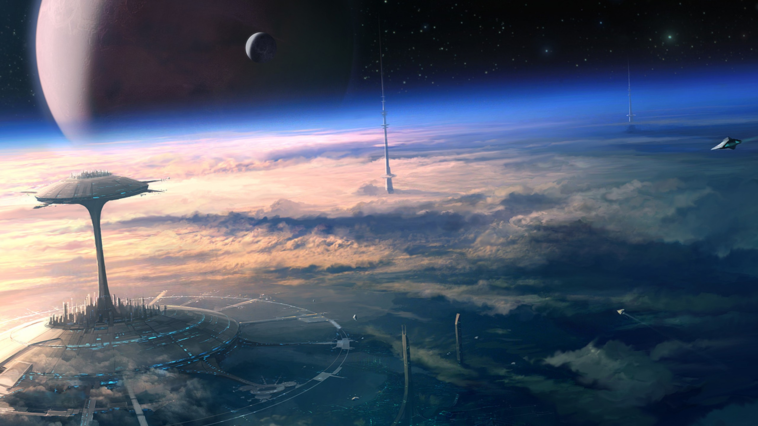 Fantasy Sci Fi Wallpaper