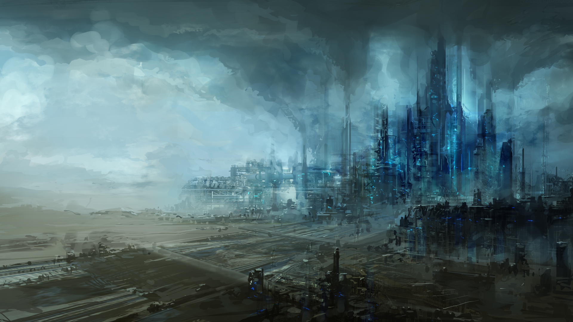 38 (40 Absolutely Amazing Science Fiction Wallpapers)