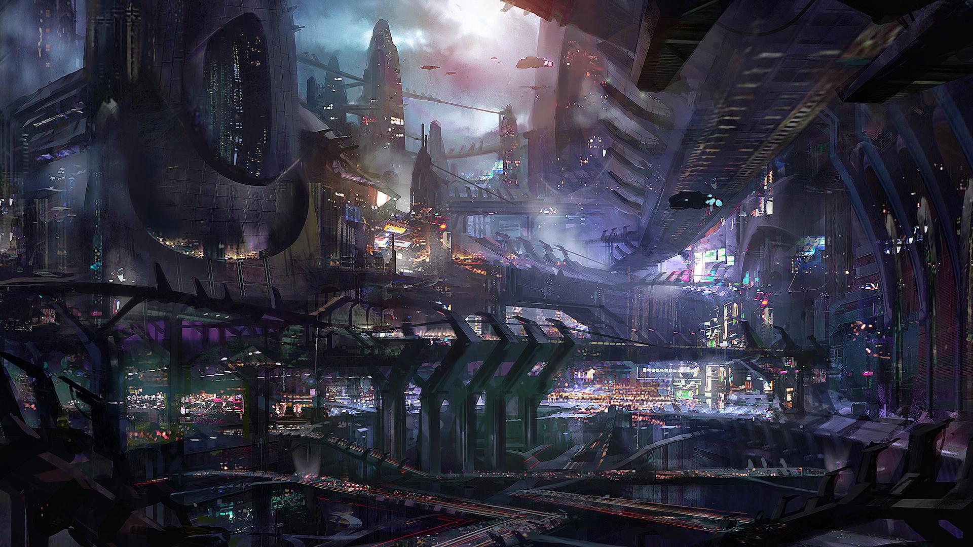 Fantasy Sci Fi Wallpaper