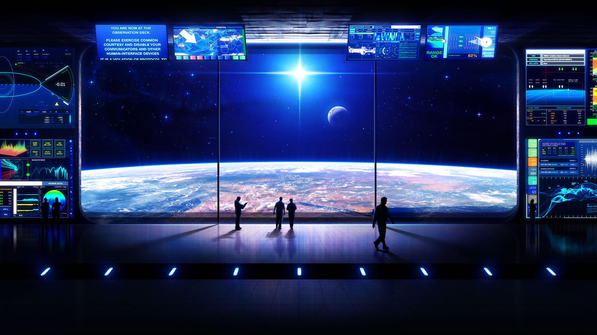 Sci Fi Planets 1920x1200. 730. scifiwallpaper1.jpg