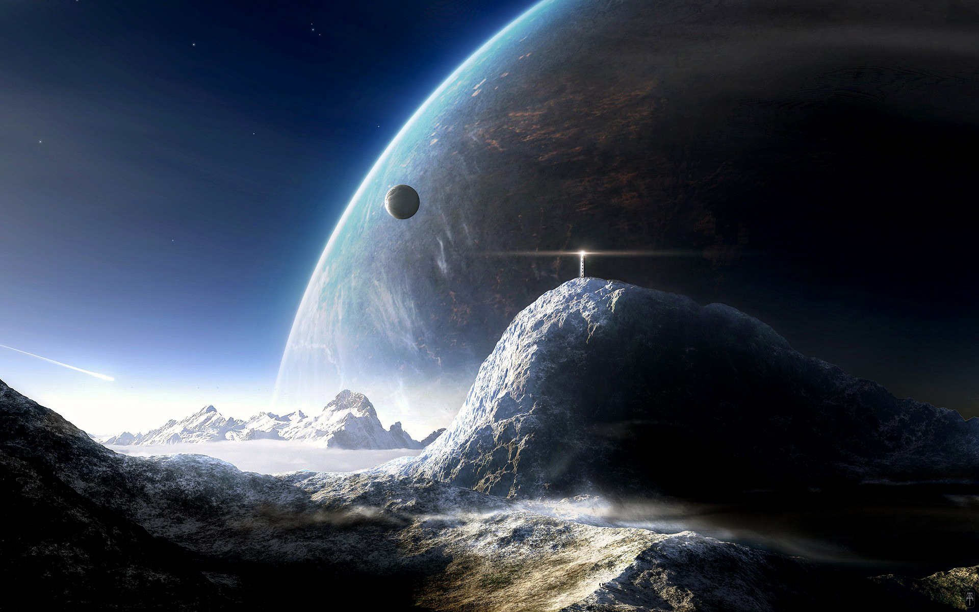 HD Wallpaper | Background ID:106846. 1920x1200 Sci Fi Planet Rise