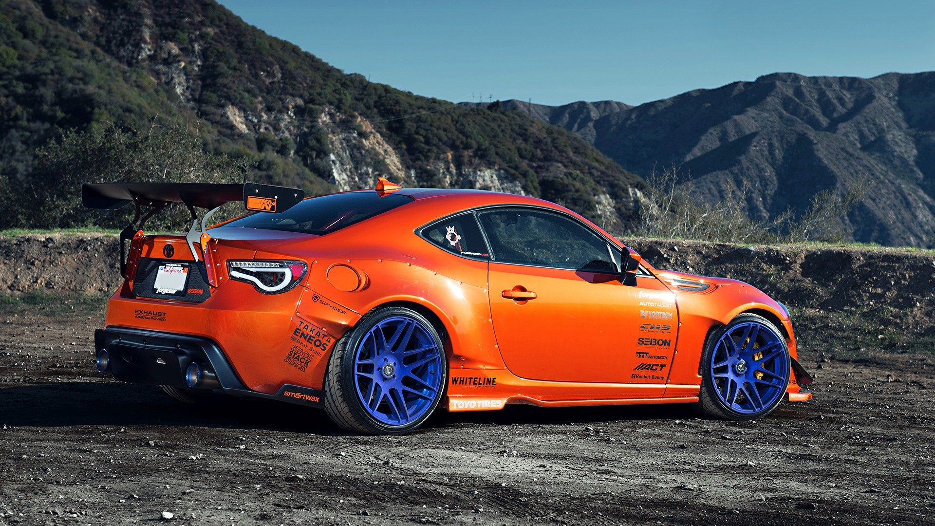 Orange Scion FRS