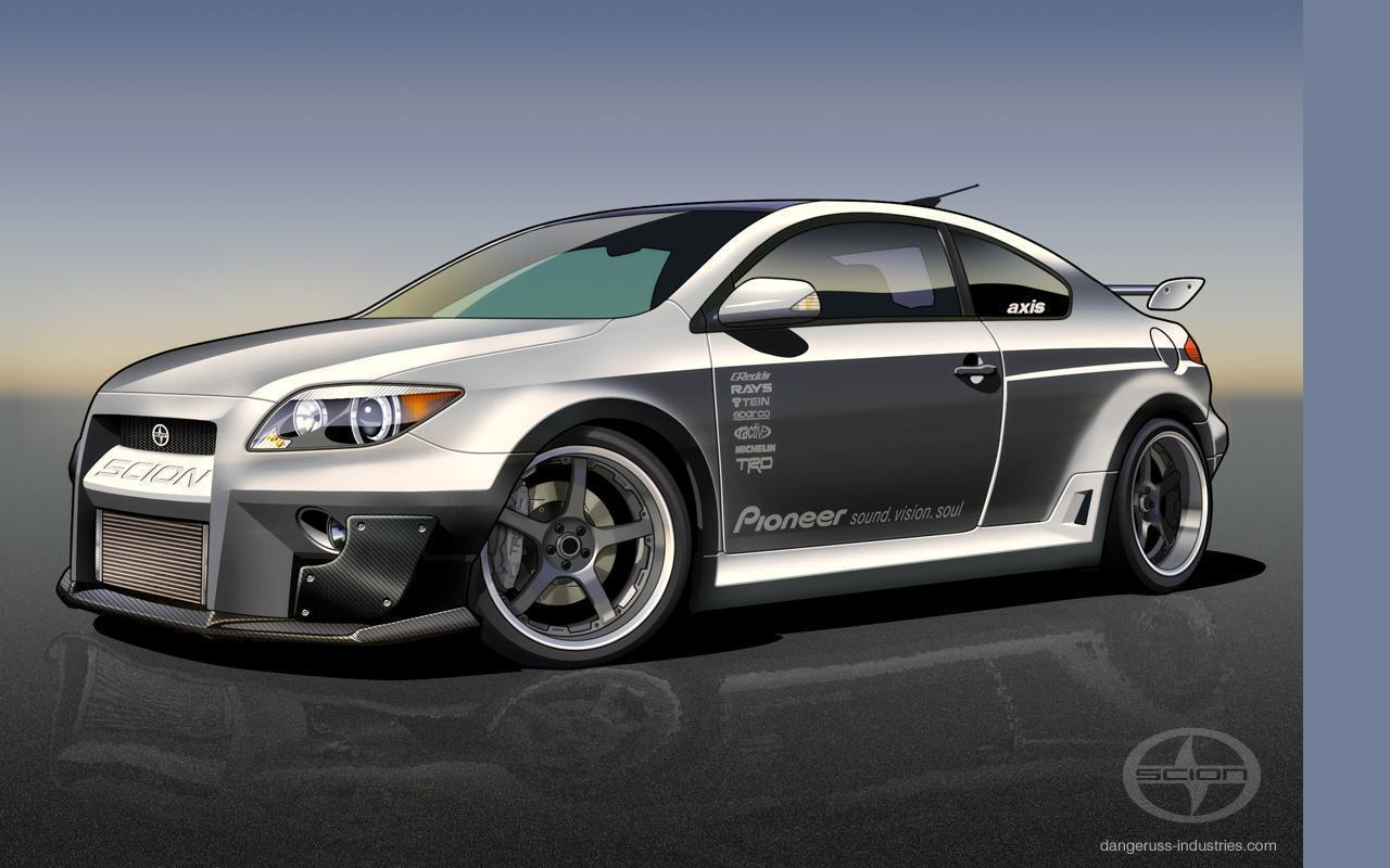 Scion Tc Wallpaper 1280x800 48235