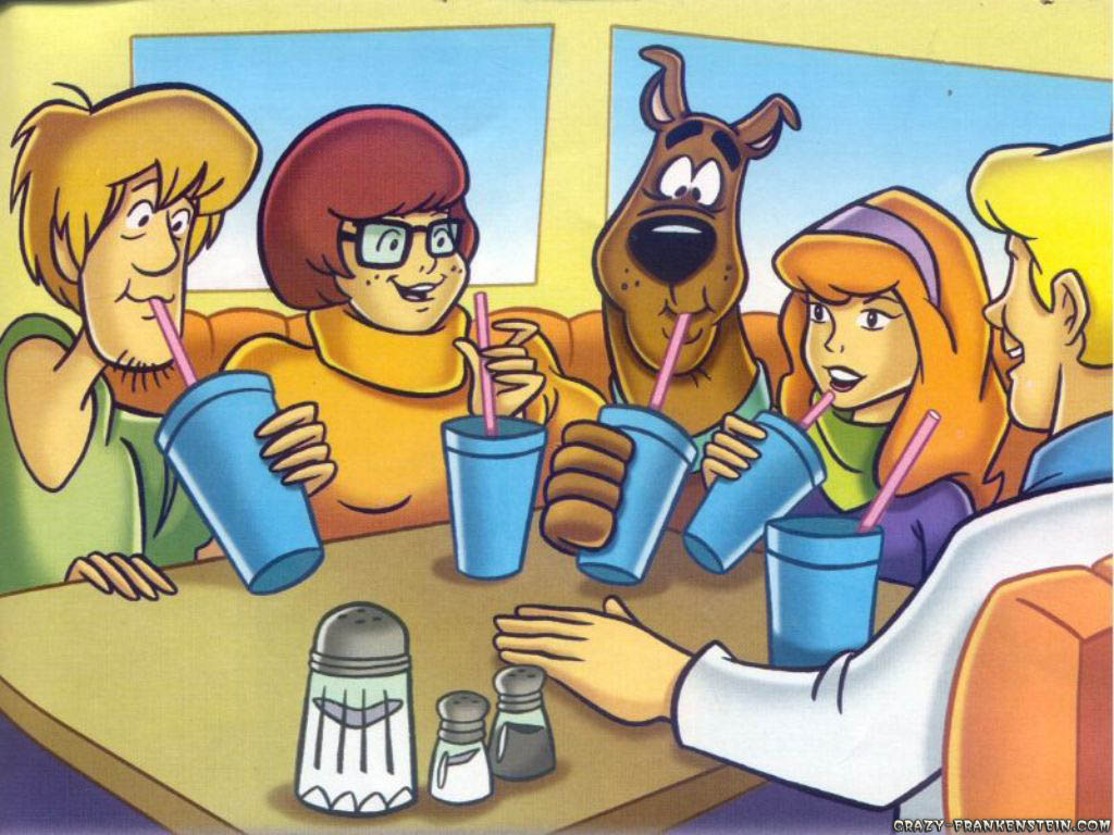 Scooby Doo 25 Desktop Background