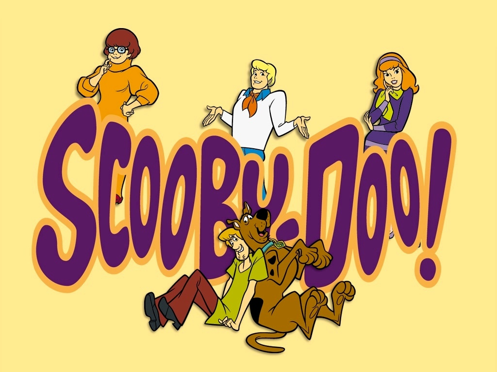 """""""Scooby-Doo"""" desktop wallpaper (1024 x 768 pixels)"""