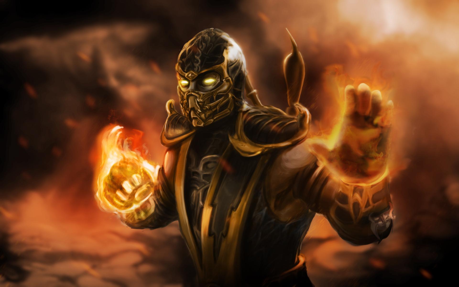 Scorpion Mortal Kombat Wallpaper