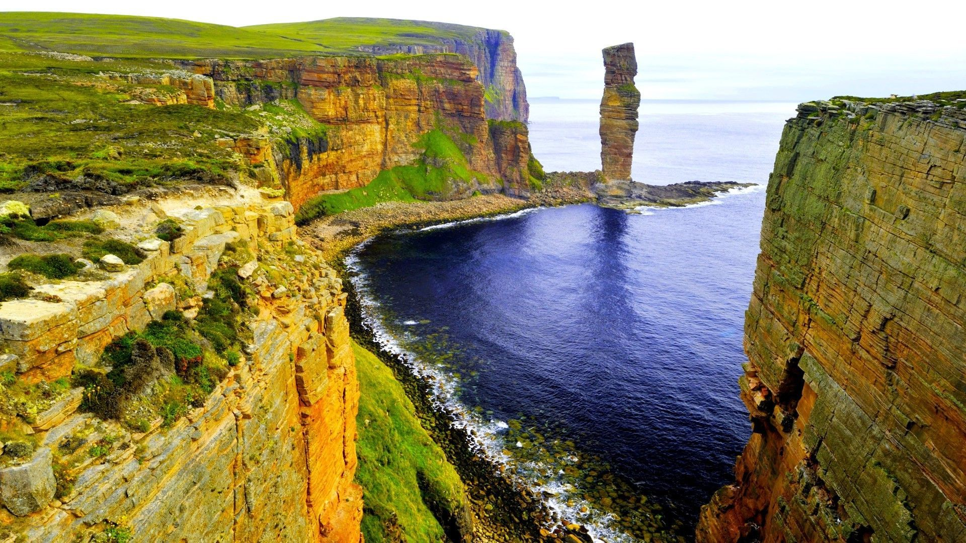 Old Man of Hoy, Scotland wallpaper