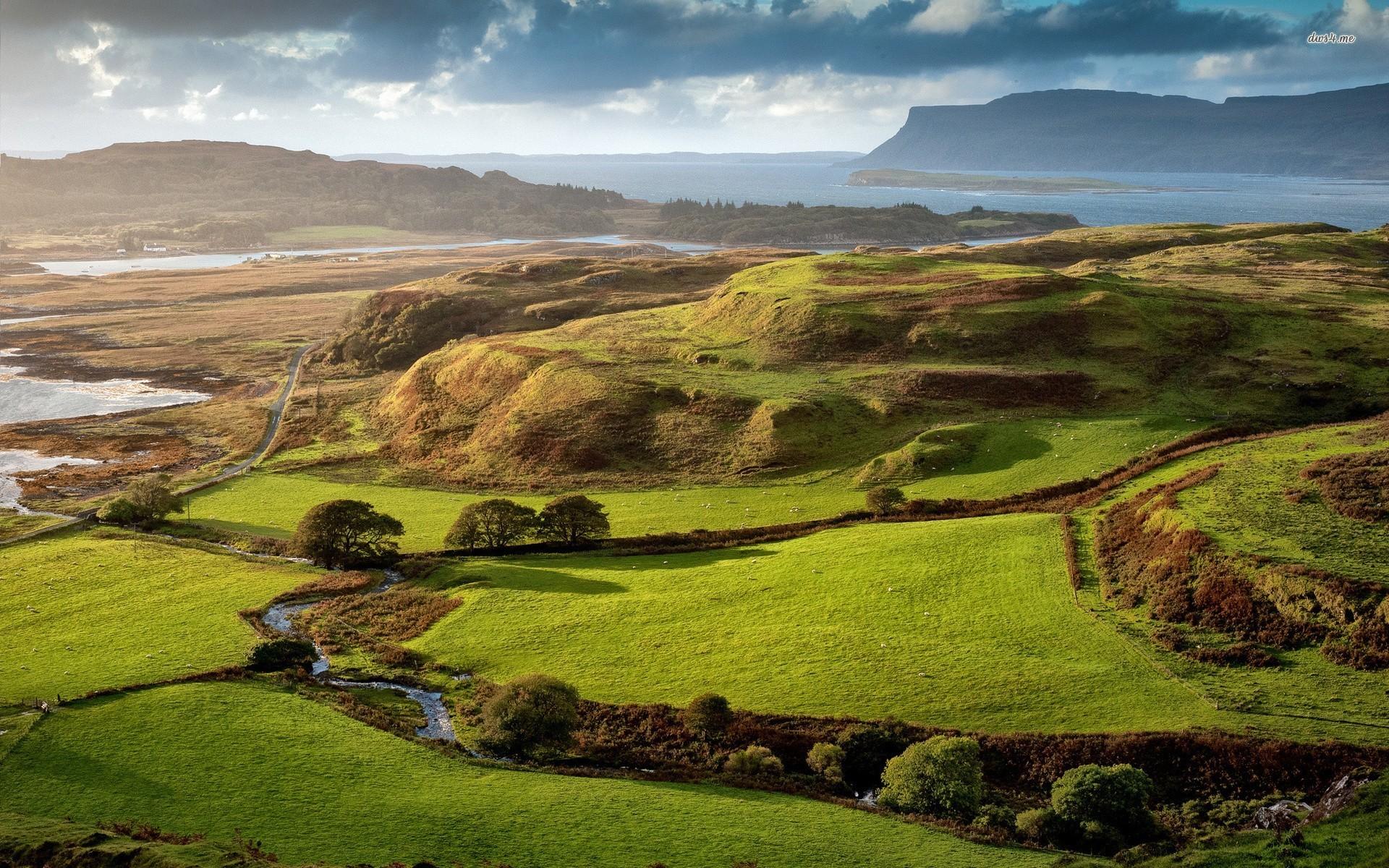 Scotland Background