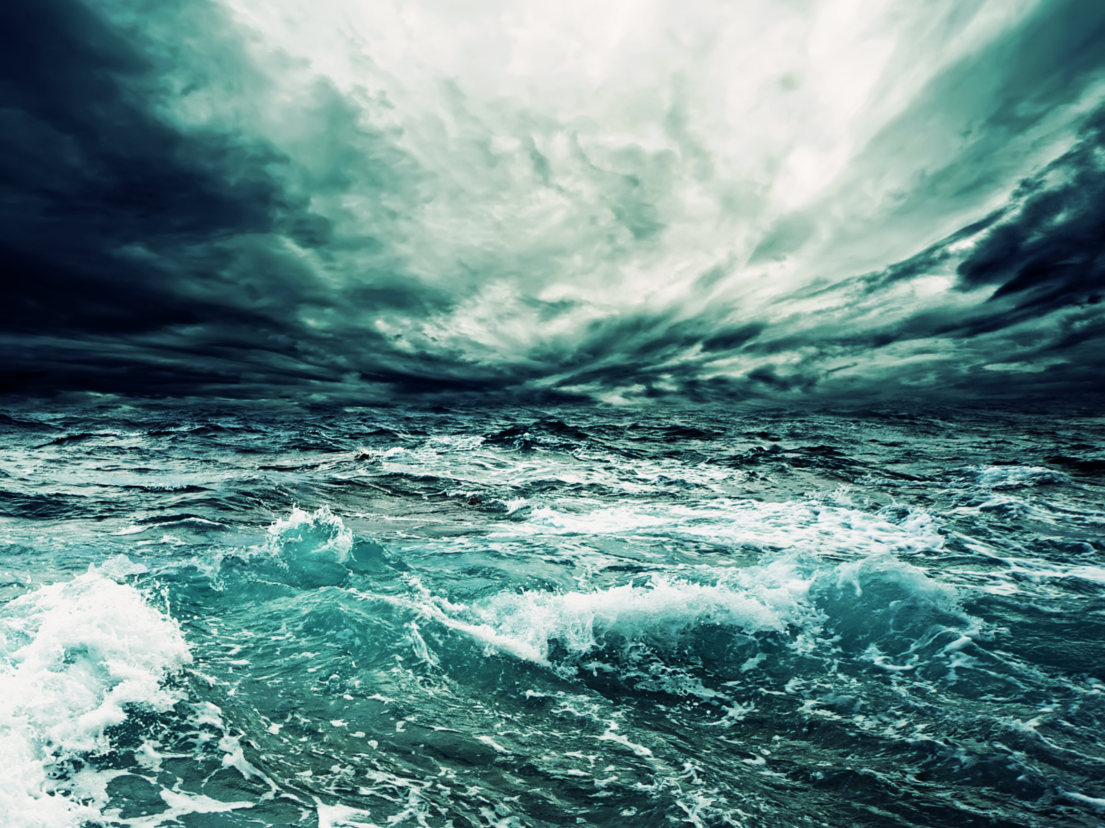 Free Sea Storm Wallpaper 32294 1600x1200 px