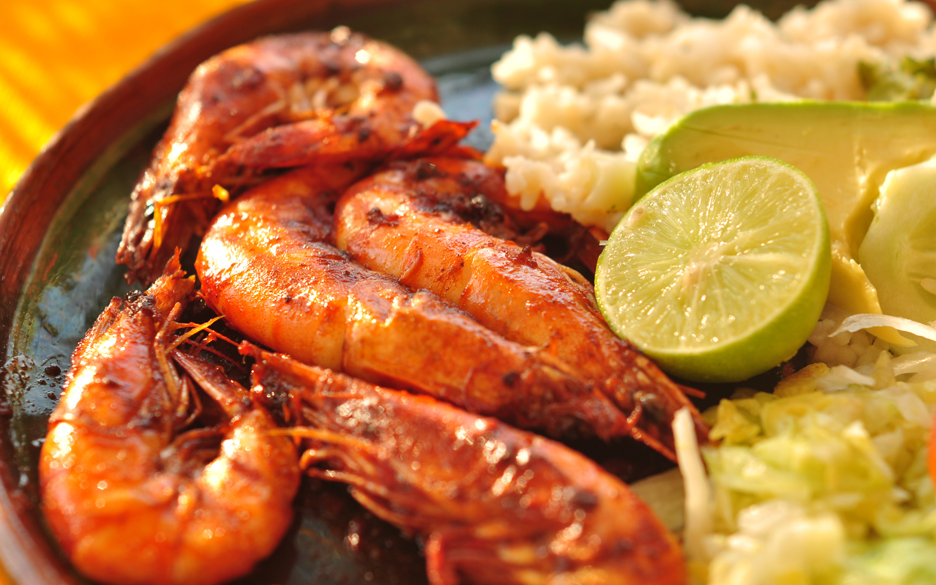 Seafood Wallpaper HD