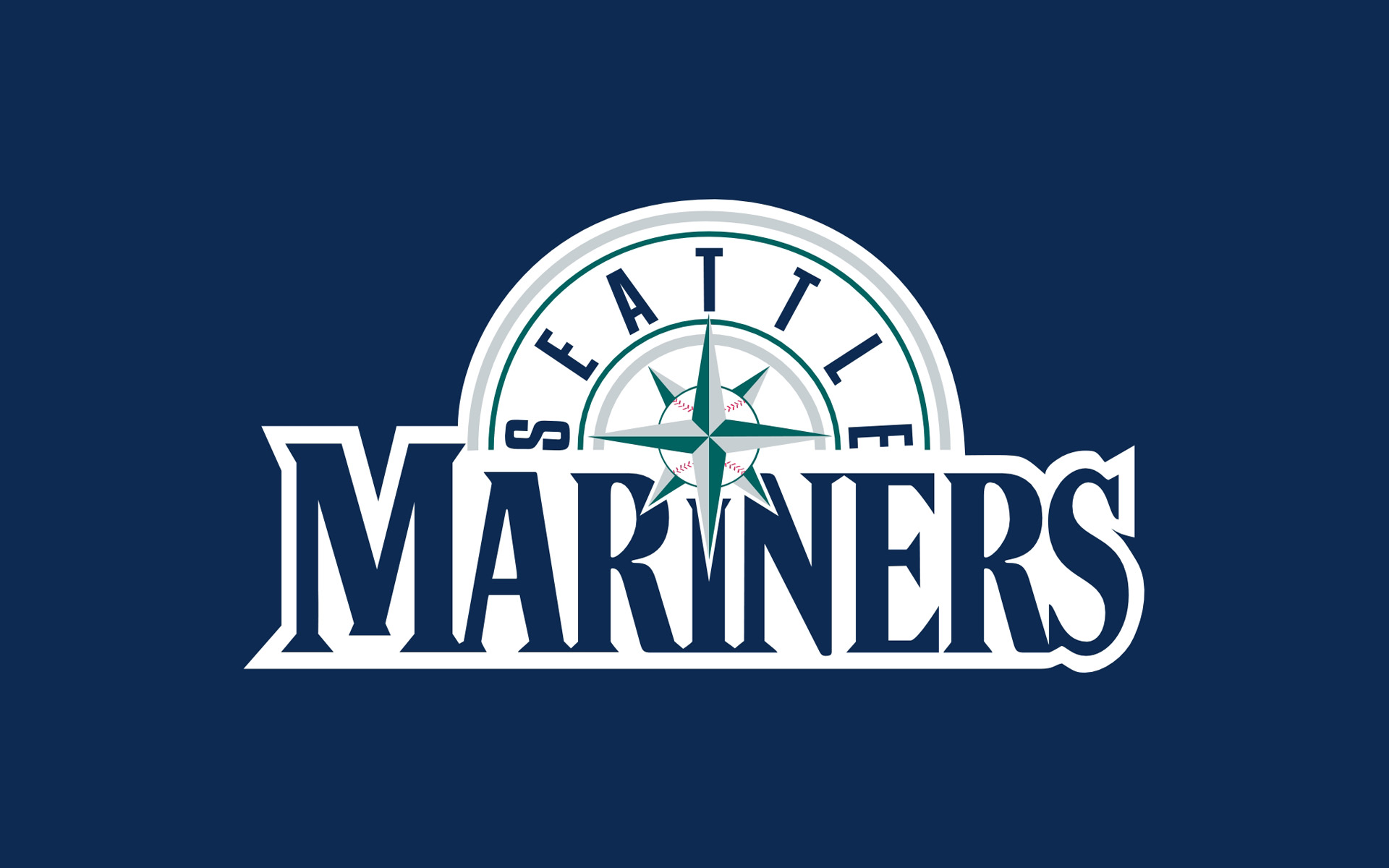 MLB Seattle Mariners Logo 1920x1200 WIDE