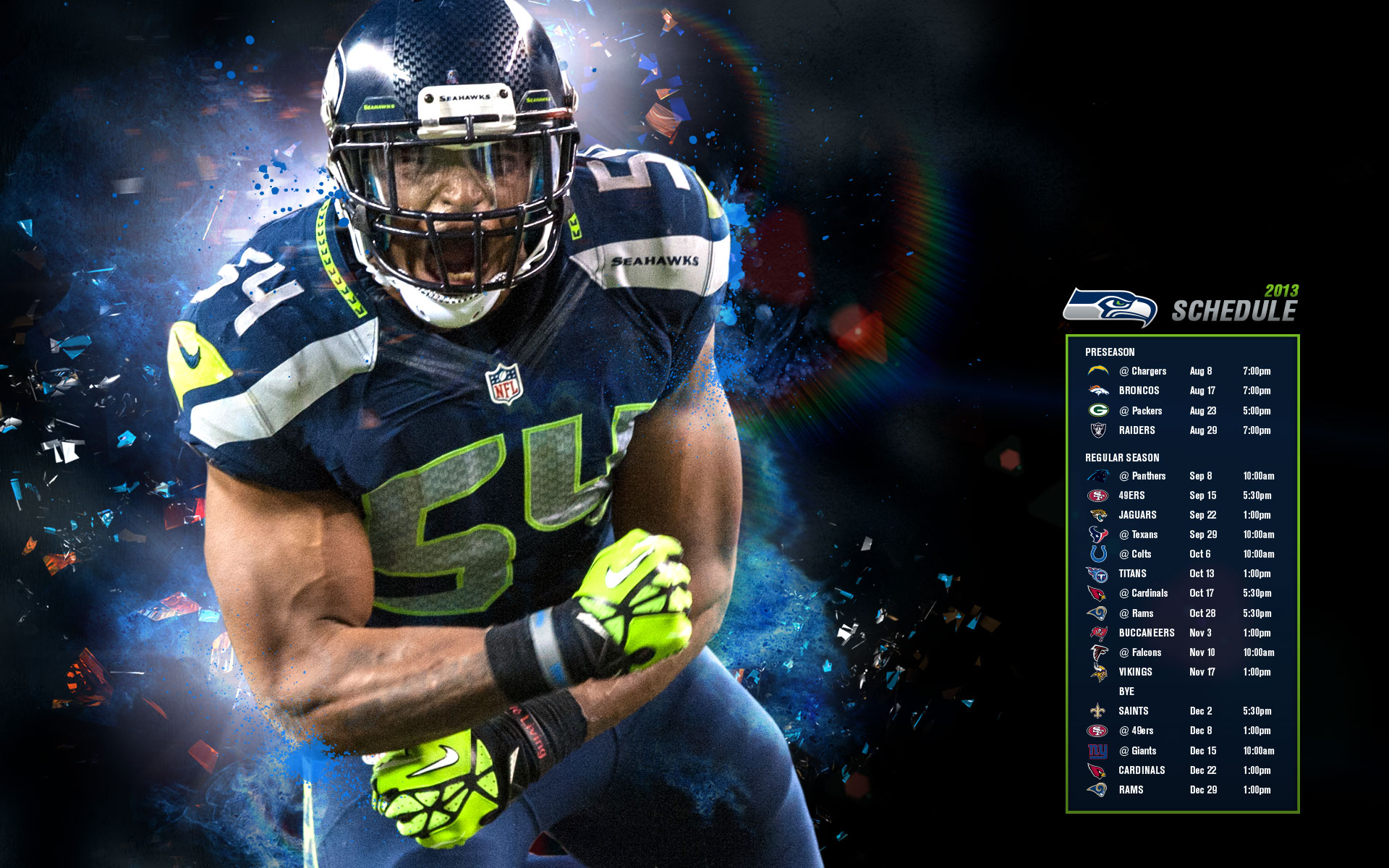 Seattle Seahawks Hd Wallpapers Backgrounds