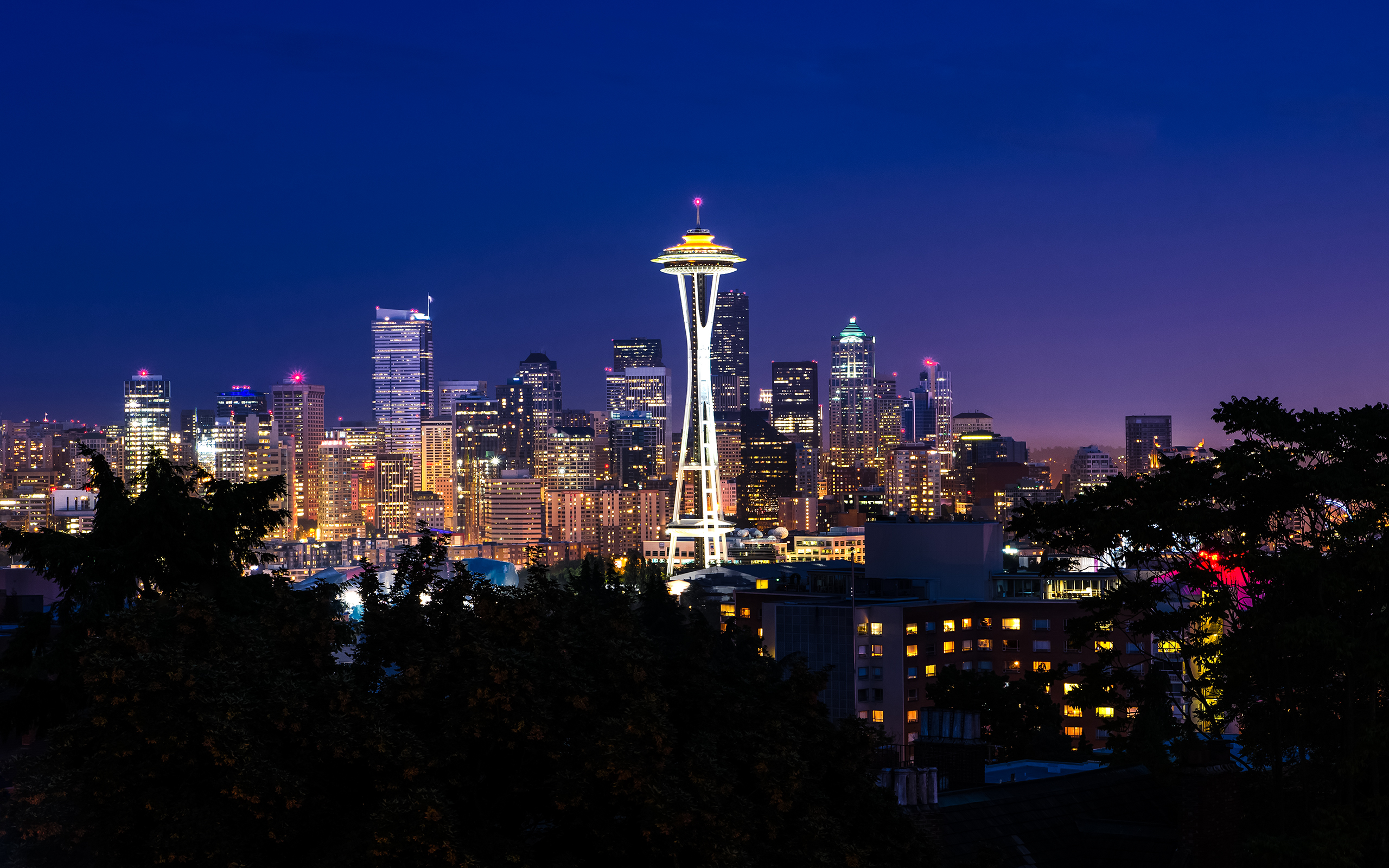Seattle Skyline Wallpaper 20859 1920x1200 px