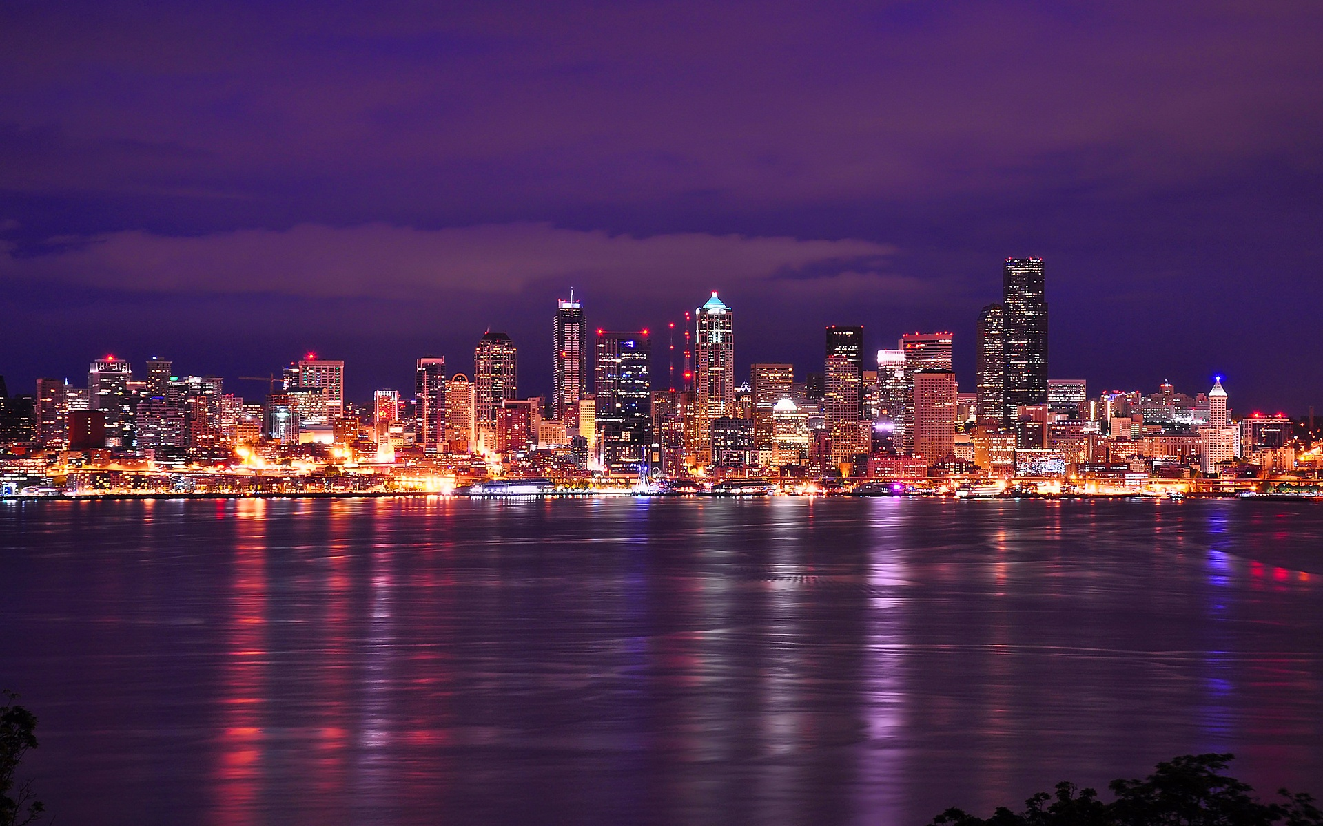 Seattle Skyline Wallpaper