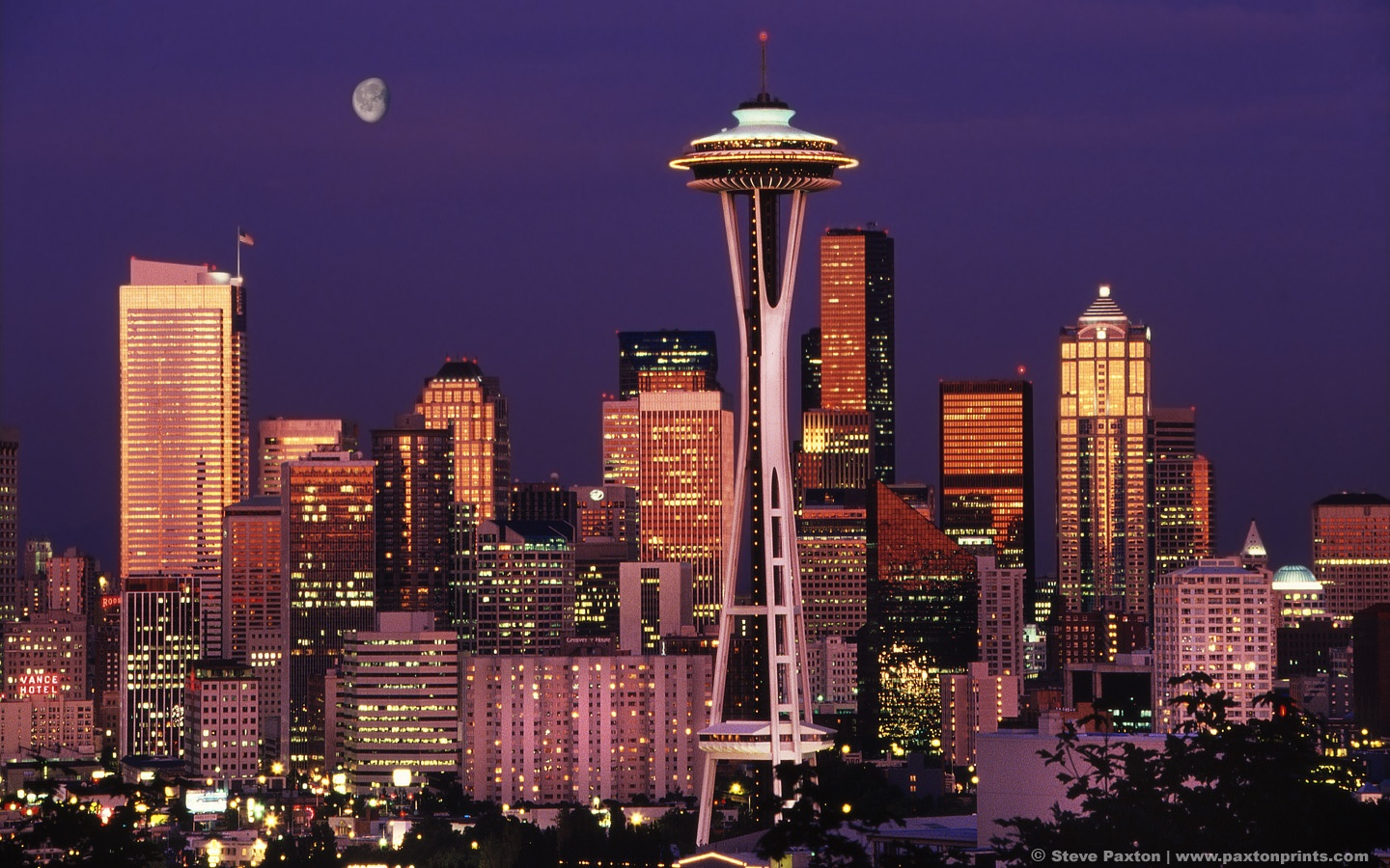 Wide resolutions: 1280 x 800 1440 x 900 Original Link. Download seattle skyline wallpaper ...