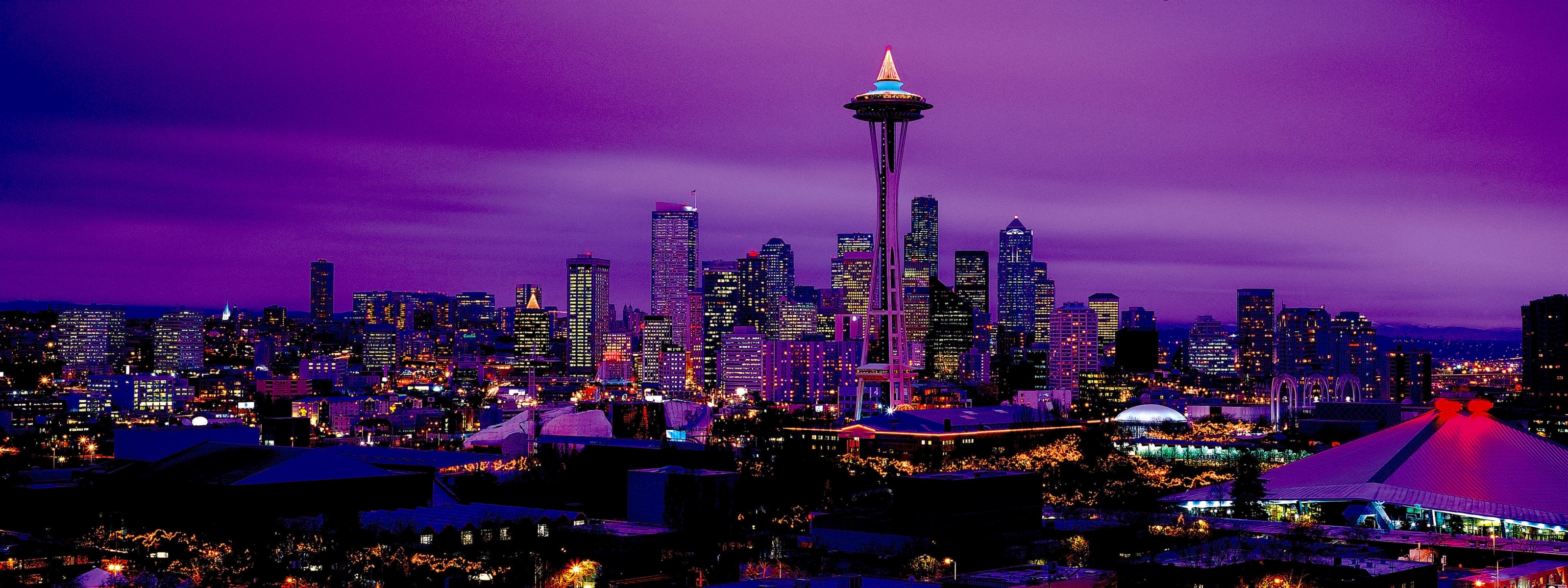 Seattle Wallpaper 3200x1200 65843