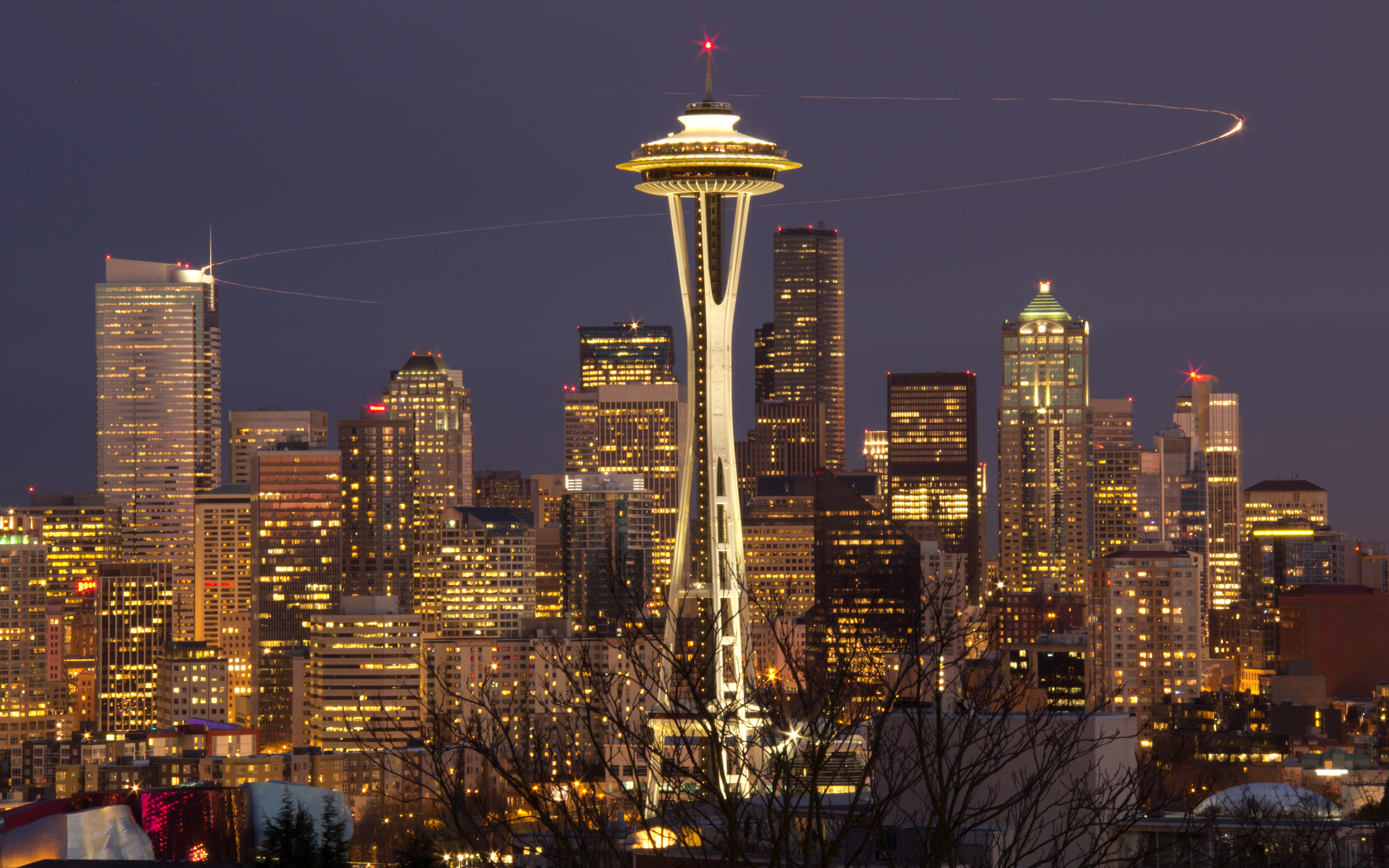 HD Wallpaper | Background ID:362162. 2560x1600 Man Made Seattle