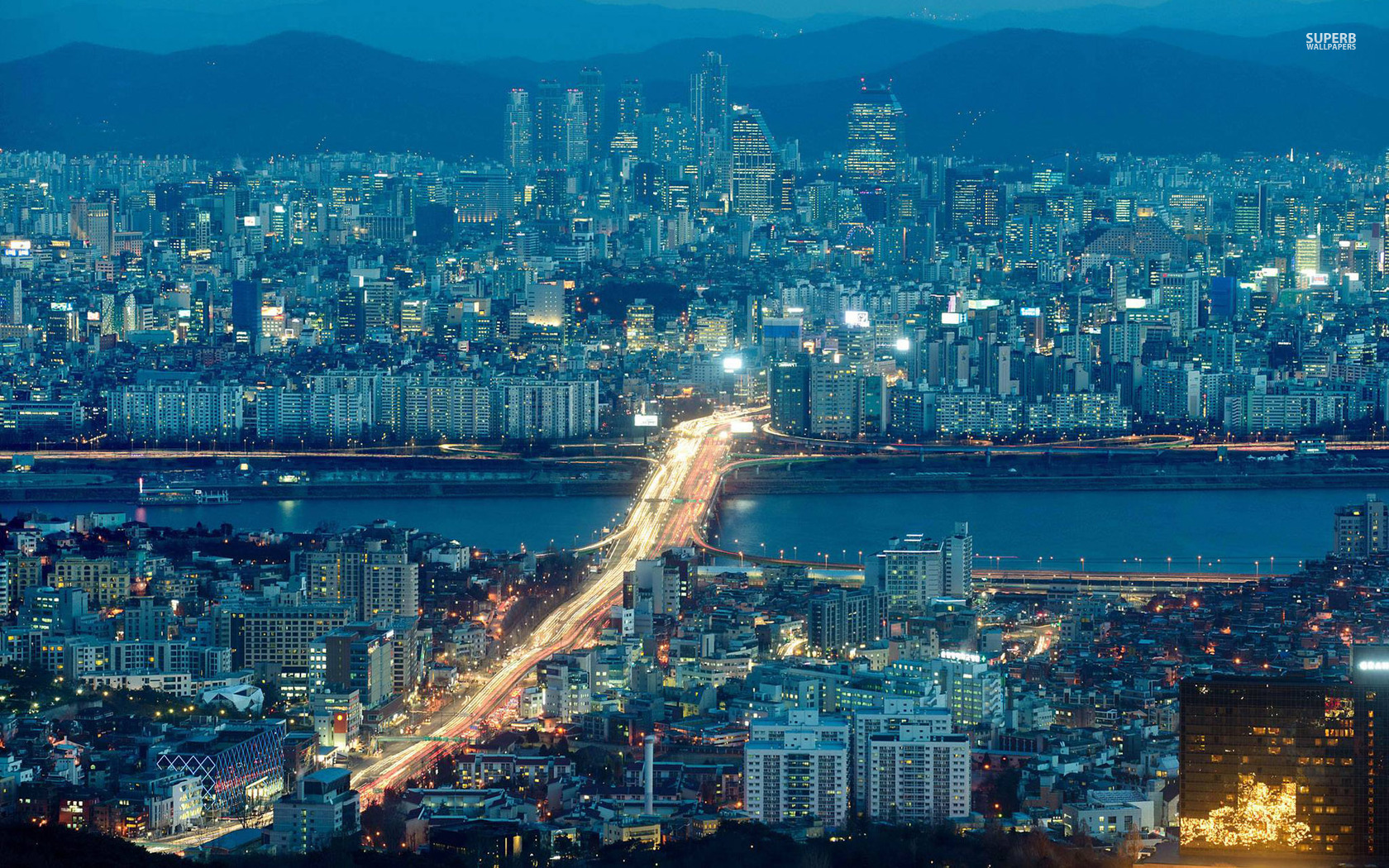 Seoul wallpaper 1680x1050