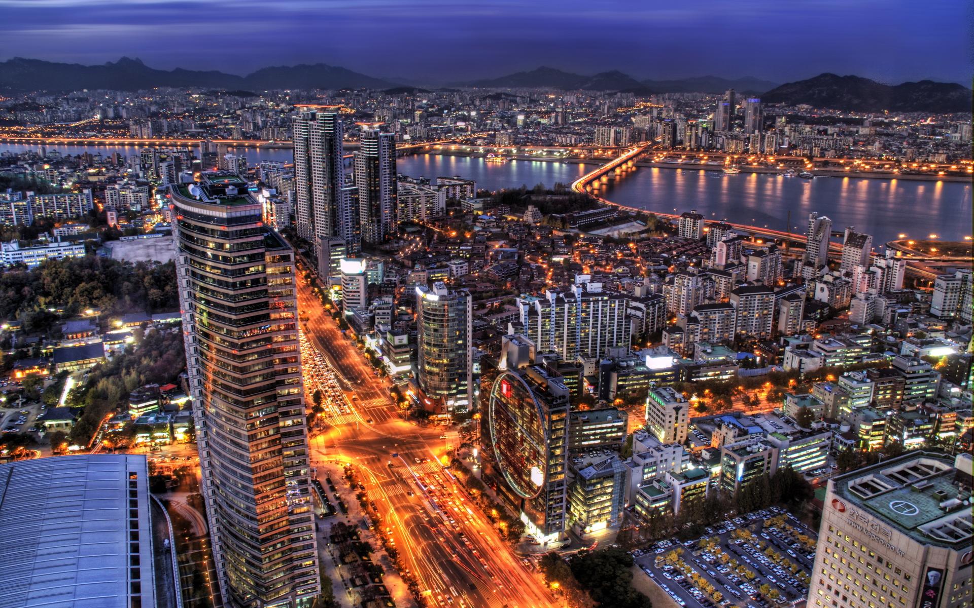 Seoul Background