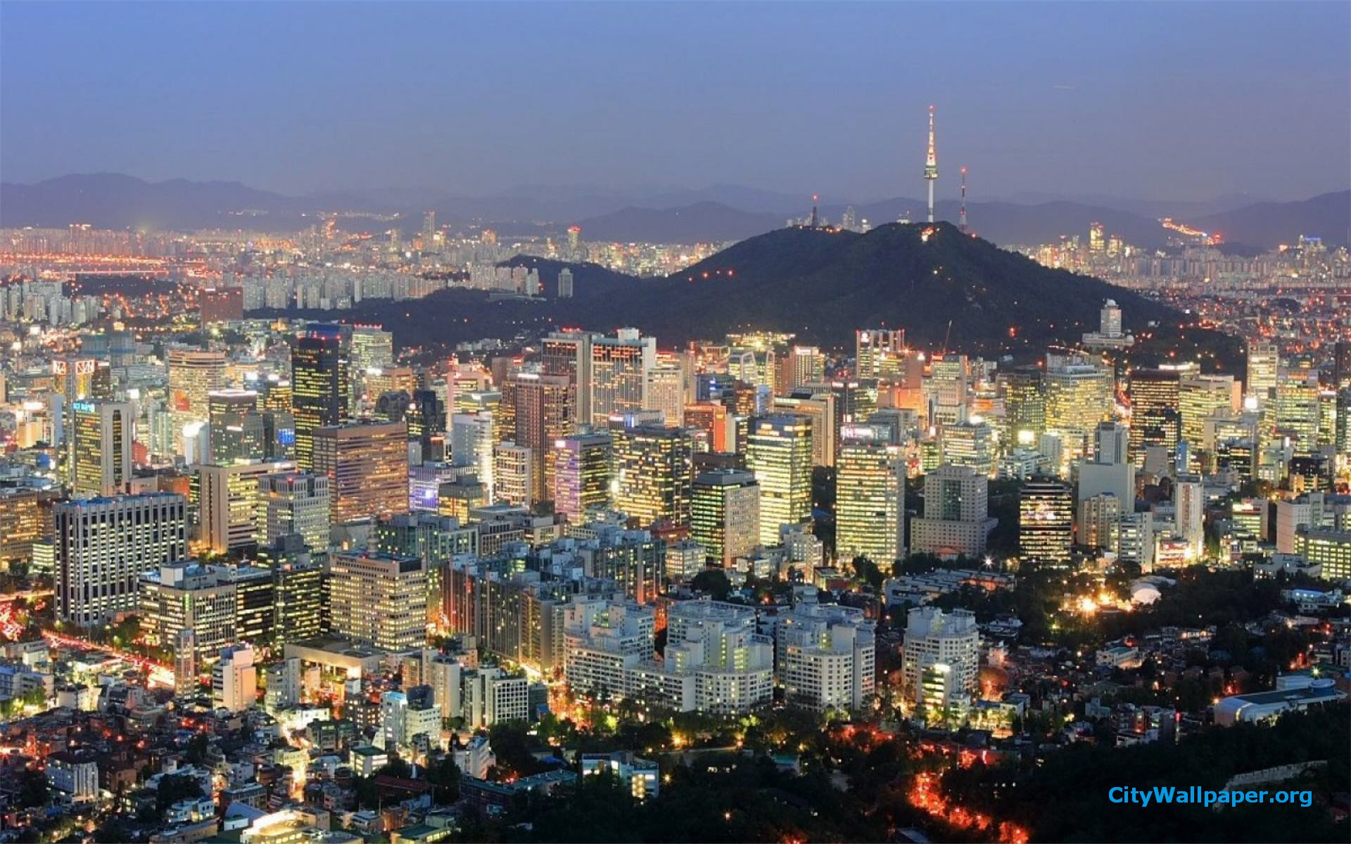 Seoul Skyline 30922 1920x1080 px