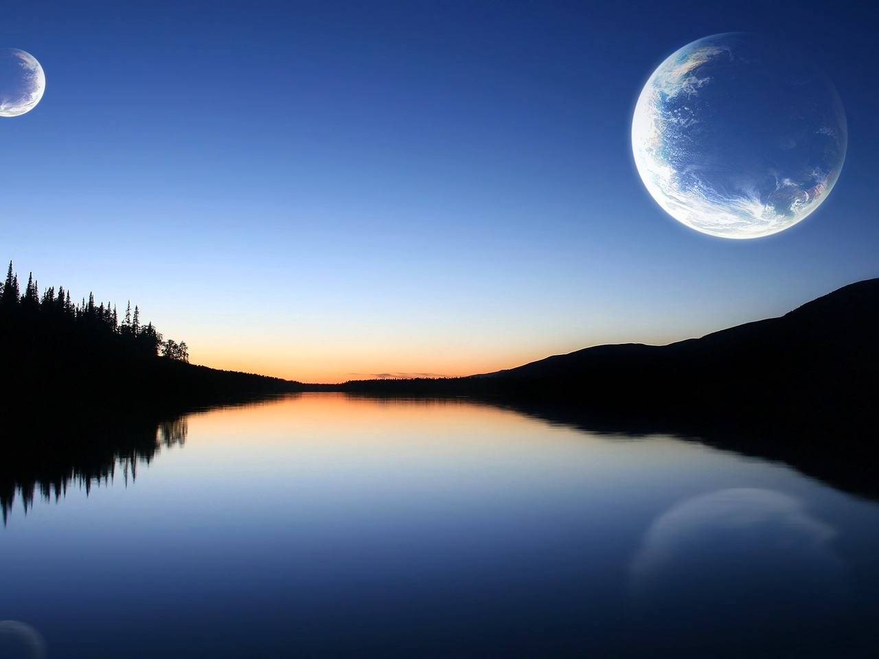 Serene Planets