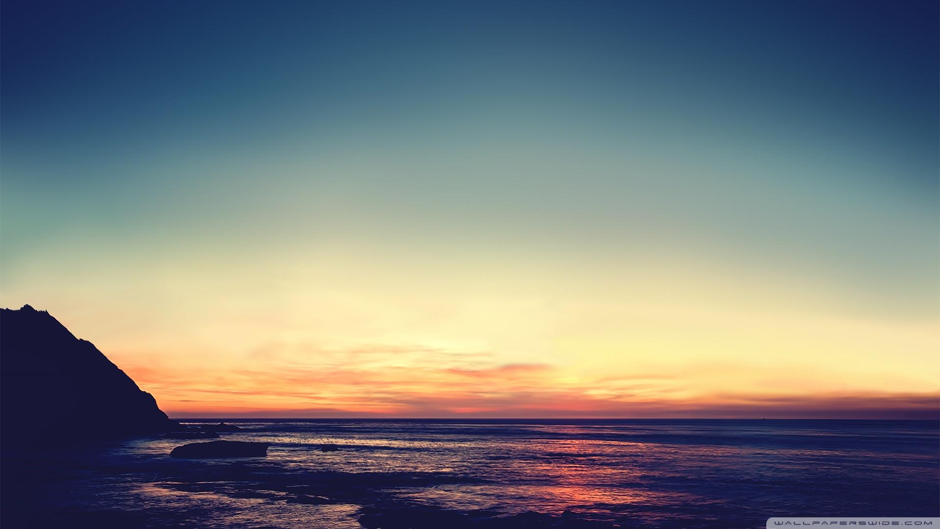 Serene sunset 50357