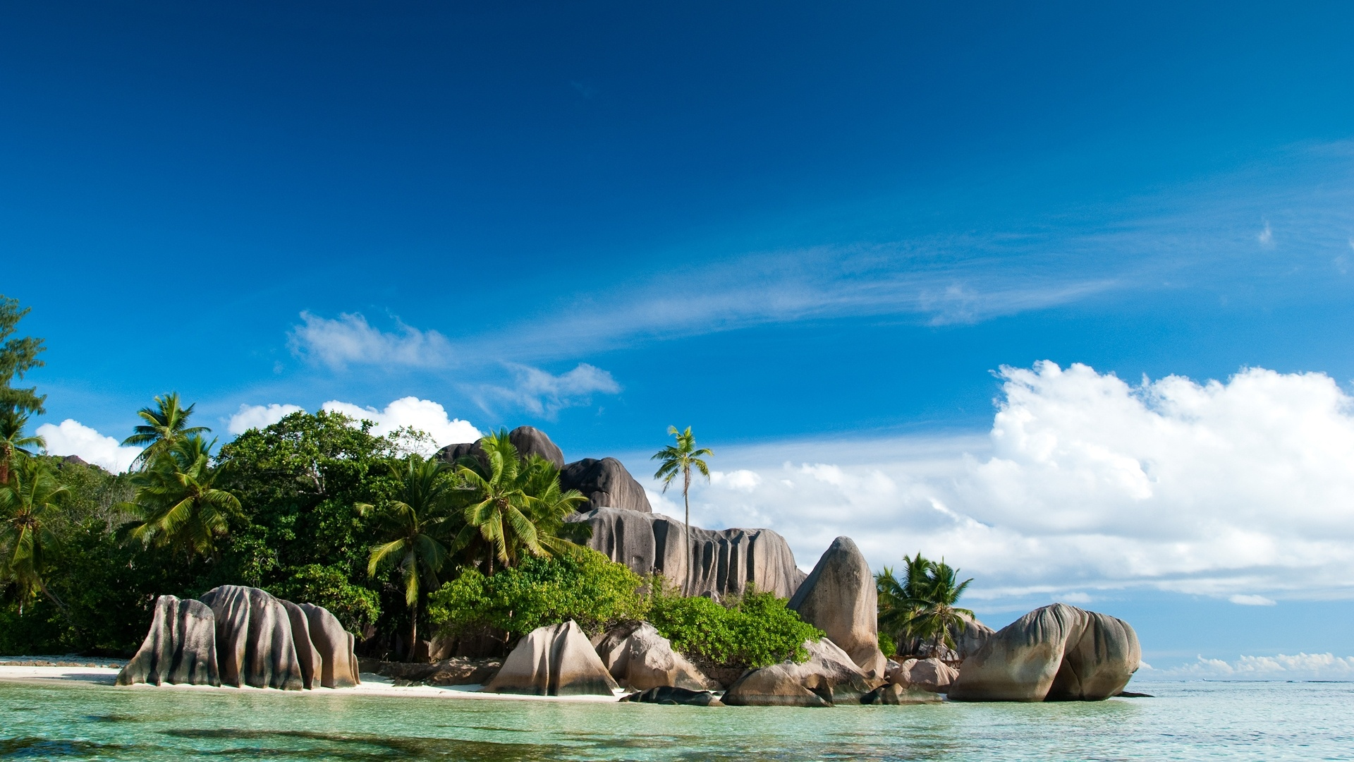 Seychelles Islands Landscape