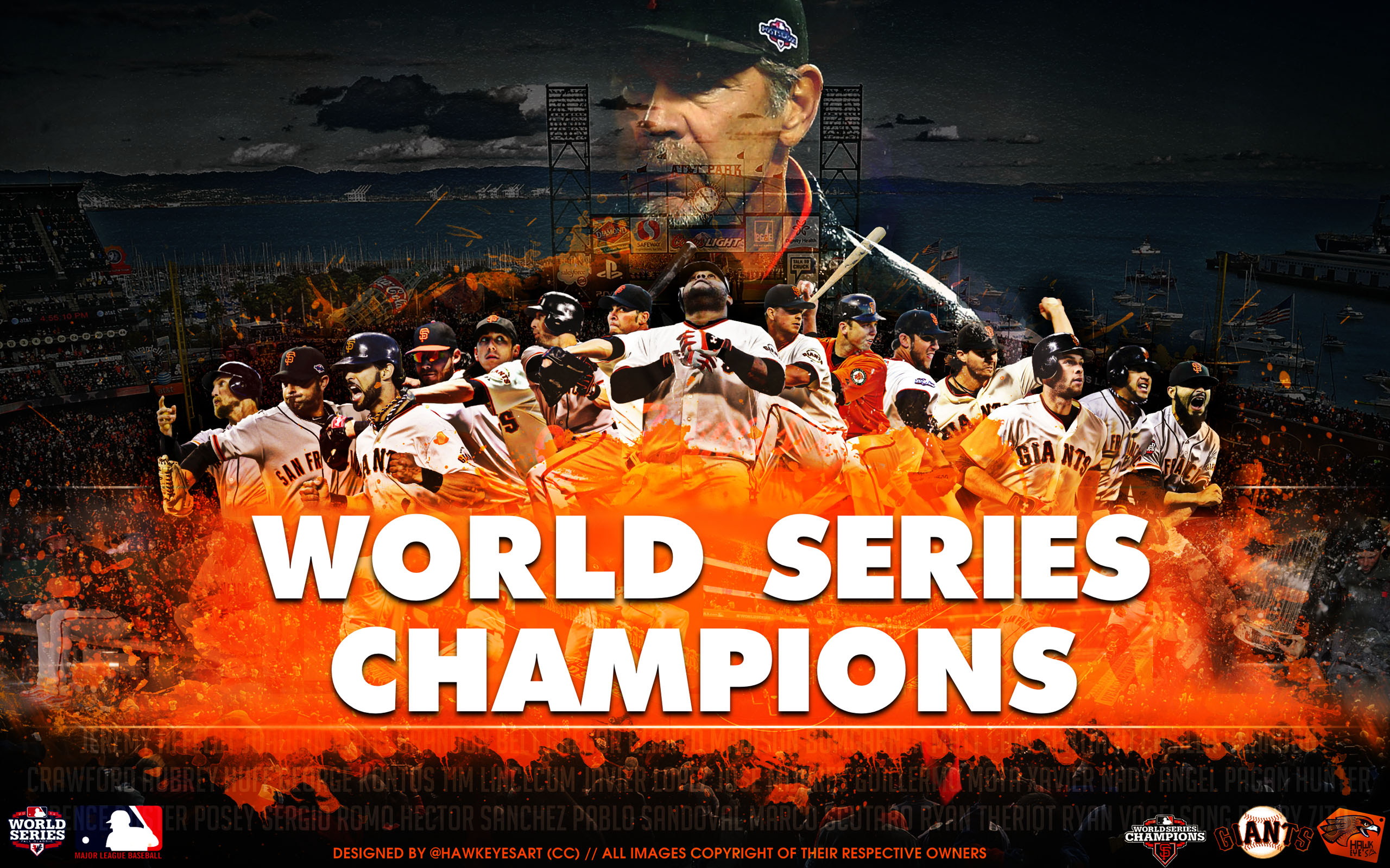 Sf giants wallpaper 2560x1600 54194 sf giants wallpaper voltagebd Image collections
